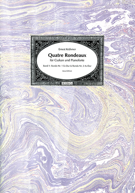 Quatre Rondeaux op. 33 (1834)  Volume 1: Rondo no. 1 E-flat major & Rondo no. 2 A-flat major.