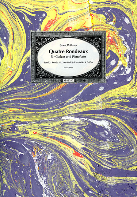 Quatre Rondeaux op. 33 (1834)  Vol 2: Rondo no. 3 in E-flat minor & Rondo no. 4 in E-flat major